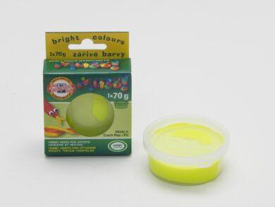 hmota modelovací 01316 MASS fluorescenční žlutá 70g(0131690001KS)