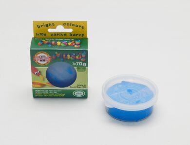 hmota modelovací 01316 MASS fluorescenční modrá 70g(0131690401KS)