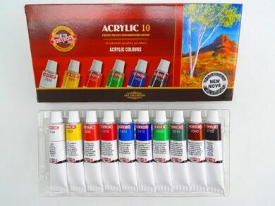 Souprava barvy 162703/10 akrylové 16ml(016270300000)