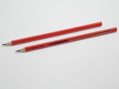 Tužka trojhranná 1802 č.1 červená(1802001001KS)