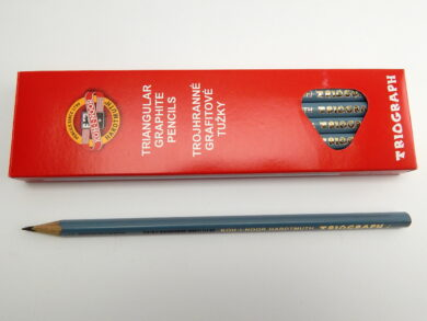 Tužka trojhranná 1802 č.2 šedá(1802002001KS)
