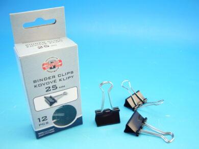 klipy kovové 25 mm(9600300125KS)