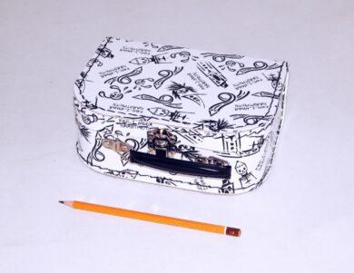 dětský kufřík papírový 9900092 malý bílý 20 cm(990009200100)