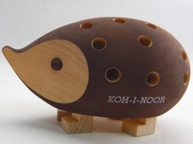 Ježek 9960M malý hnědý bez pastelek s krabičkou(9960M00001KK)