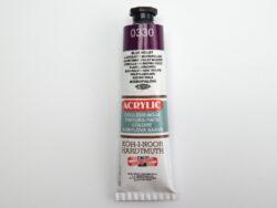 Barva 162731 / 0330 tm. fialová akrylová 40