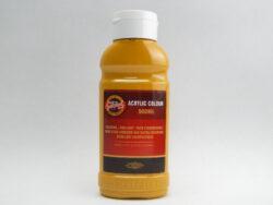 Barva akrylová 500ml okr 1627/0600