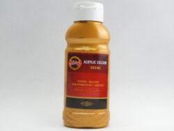 Barva akrylová 500ml zlatá  1627/0810