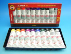 Souprava akrylových barev 1627  8+2x40ml