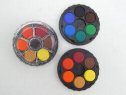 Barvy 171503/12  vodové kulaté