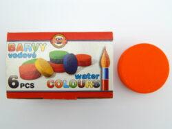 Barva 172803/57 oranžová vodová