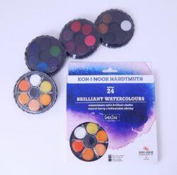 Barvy 174507/2  24 barev brilantní pr.22,5