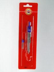 Kružítko 04901/BLISTR kovové školní