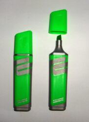 zvýrazňovač 2226 plochý zelený
