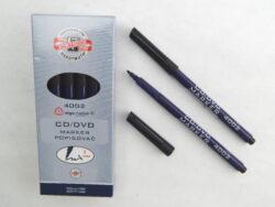 popisovač CD/DVD 4002 černý trojhranný