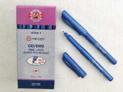 popisovač fine liner 4061 modrý CD/DVD