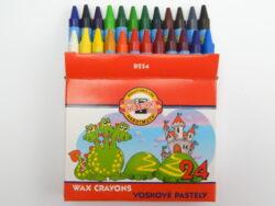 Voskovky 8234/24 krátké papír