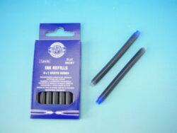Bombičky/7ks dlouhé - modrý inkoust