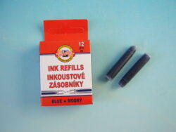 Bombičky/12ks - modrý inkoust